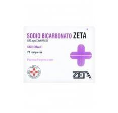 Sodio Bicarbonato Zeta 20 compresse 500mg offerta