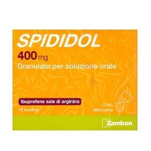 Spididol 12 Bustine 400 mg Aroma Albicocca offerta