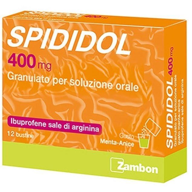 Spididol 12 Bustine 400 mg Aroma Menta Anice offerta