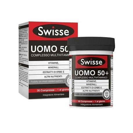 SWISSE MULTIVIT UOMO50+ 30CPR prezzi bassi