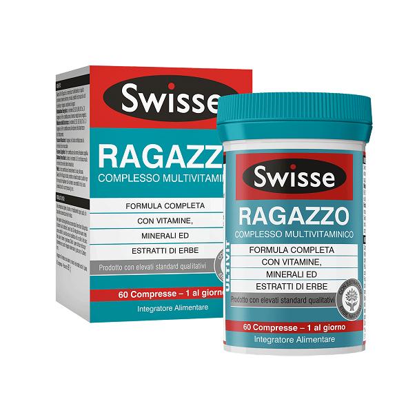 SWISSE MULTIVIT RAGAZZO 60CPR prezzi bassi