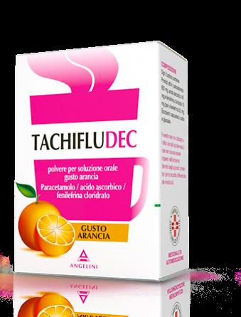 Tachifludec Arancia 10 bustine offerta