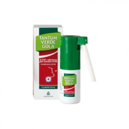 Tantum Verde Gola 0,25% Soluzione Spray Per Mucosa Orale 15ml