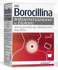 NeoBorocillina Infiammazione e Dolore 12 bustine offerta