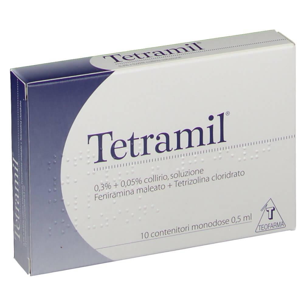 Tetramil Collirio 10 Flaconcini Monodose 0,5 ml offerta