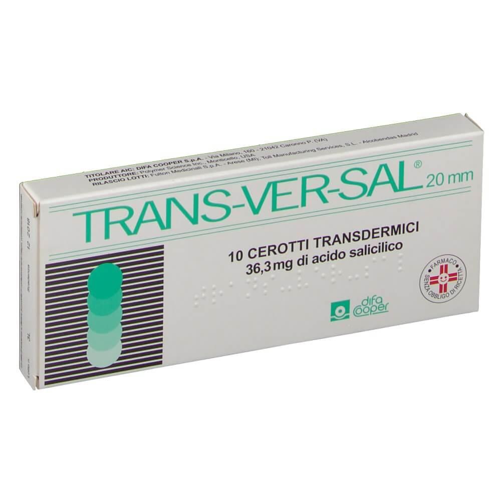 Transversal 10 Cerotti Transdermici 36,3mg/20mm offerta