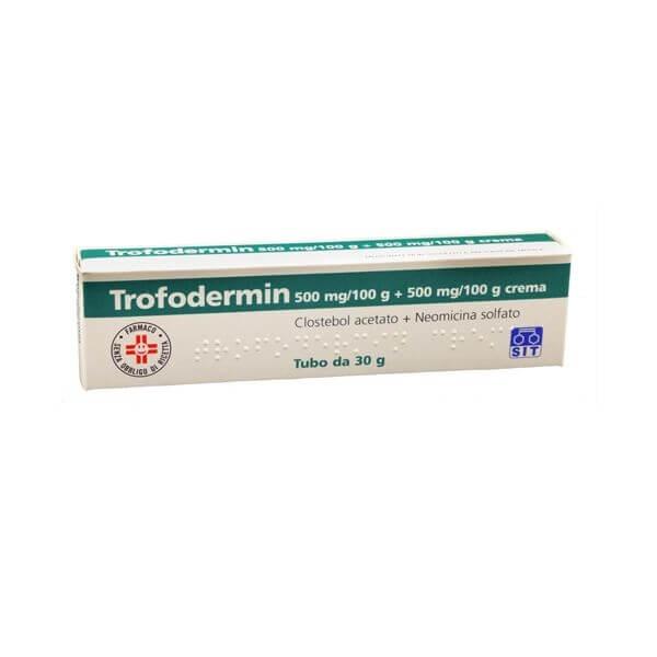Trofodermin Crema Dermatologica 30g offerta