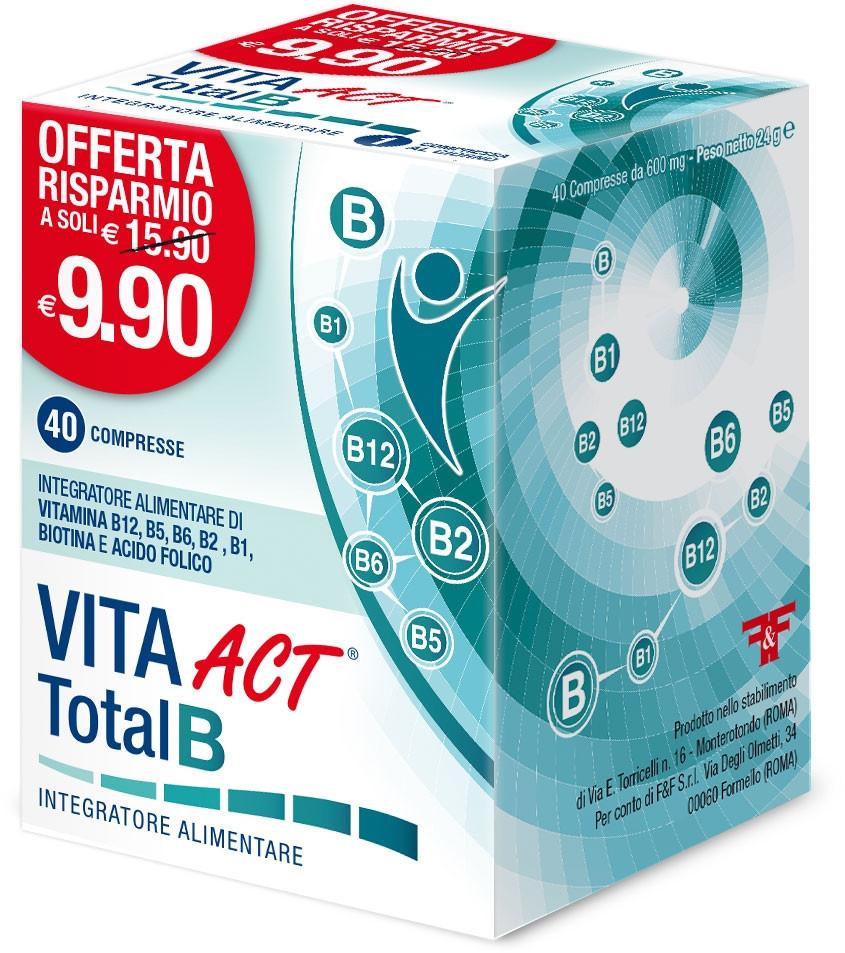 Vita Act Total B 40 Compresse prezzi bassi