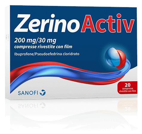 ZerinoActiv 20 Compresse 200 Mg + 30 Mg offerta