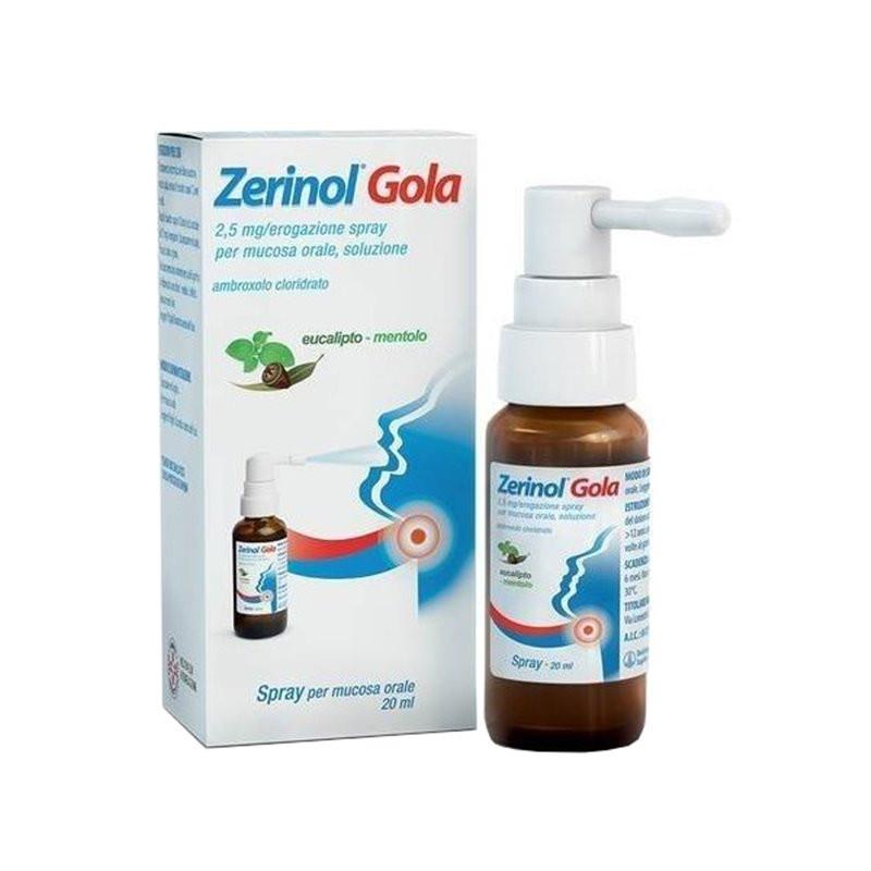 Zerinol Gola Spray 20ml offerta