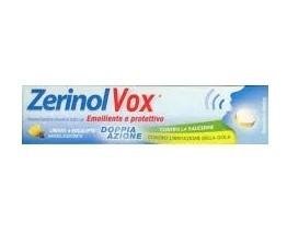 ZerinolVox Emolliente Protettivo per Raucedine Aroma Limone Eucalipto 18 Pastiglie prezzi bassi