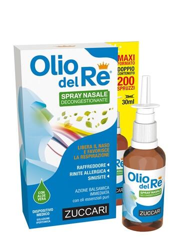 Zuccari Olio del Re Spray Nasale 30ml