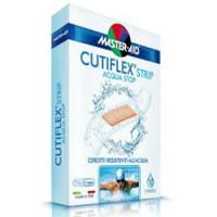 Master-Aid Cutiflex Strip Cerotto Impermeabile Trasparente Medio 10 Pezzi