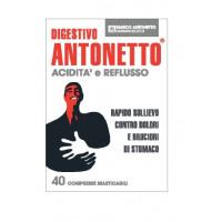 Digestivo Antonetto Acidita' e Reflusso Compresse Masticabili Pacco Doppio
