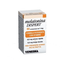 Melatonina Dispert 1mg 60 compresse
