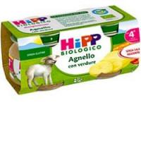 Hipp Biologico Agnello con Verdure 2x80gr.
