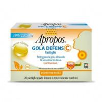 Apropos Gola Defens 20 pastiglie Limone e Zenzero