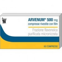 Arvenum 500mg 60 Compresse Rivestite
