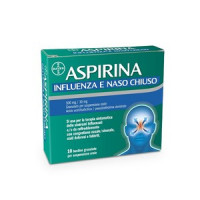 Aspirina Influenza e Naso Chiuso 10 bustine