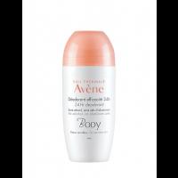 Avene Body Deodorante Roll-On Efficacia 24h 50ml
