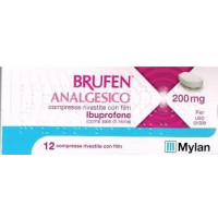 Brufen Analgesico 200mg 12 Compresse Rivestite