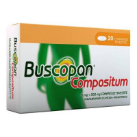 Buscopan Compositum 20 Compresse Rivestite 10 Mg + 500 Mg