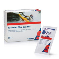 Creatina Plus Sandoz 20 bustine