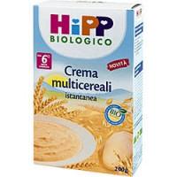 Hipp Biologico Crema Multicereali Istantanea 200gr.