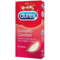 Durex Contatto Comfort Easyon 6 preservativi