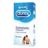 Durex Settebello Classico 6 preservativi