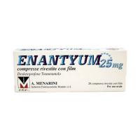 Enantyum 20 compresse rivestite 25mg