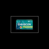 Gaviscon 48 Compresse Masticabili Menta 250 Mg + 133,5 Mg