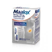 Maalox 20 bustine 460Mg+400Mg