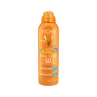 Vichy Ideal Soleil Spray Anti Sabbia per Bambini SPF50+ 200ml