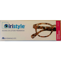 Iristyle Occhiali Da Lettura +3,00 Rubber Demi Brown