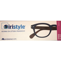 Iristyle Occhiali Da Lettura +3,00 Rubber Bi-Blue