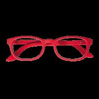 Iristyle Occhiali Da Lettura +3,00 Rubber Red
