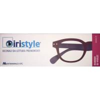Iristyle Occhiali Da Lettura +1,00 Rubber Bi-Violet