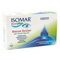 Isomar Occhi Plus Gocce Oculari per Occhi Secchi 30 fiale monodose