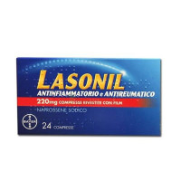 Lasonil Antinfiammatorio e Antireumatico 24 Compresse Rivestite 220 Mg