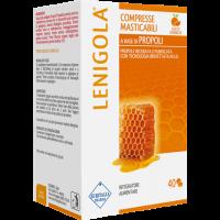Lenigola 40 Compresse Masticabili Gusto Arancia