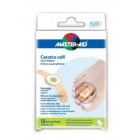 Master-Aid Foot Care Cerotto Calli In Polietilene 12 Pezzi