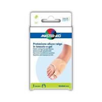 Master-Aid Protezione Alluce Valgo Gel/Tessuto 1 pezzo