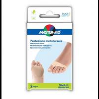 Master-Aid Protezione Metatarso Gel/Tessuto S 2 pezzi