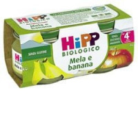 Hipp Biologico Omogeneizzato Mela e Banana 2x80gr.