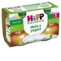 Hipp Biologico Omogeneizzato Mela e Yogurt 2x125gr.