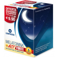 Melatonina Act 1mg+5 Complex Forte 90 compresse