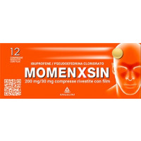 Momenxsin 12 compresse rivestite 200mg/30mg