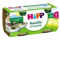 Hipp Omogeneizzato Nasello con Patate 2x80gr.