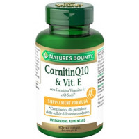 Nature's Bounty CarnitinQ10 & Vit.E 60 perle softgels